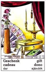 Cigánska karta Dar / Gift