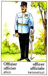 Cigánska karta Dôstojník / Officer
