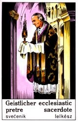 Cigánska karta Kňaz / Ecclesiasitc