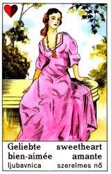 Cigánska karta Milenka / Sweetheart