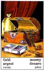 Cigánska karta Peniaze / Money