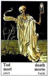 Cigánska karta Smrť / Death