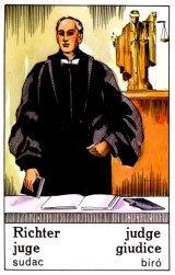 Cigánska karta Sudca / Judge