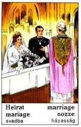 Cigánska karta Svadba / Marriage