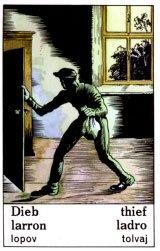 Cigánska karat Zlodej / Thief